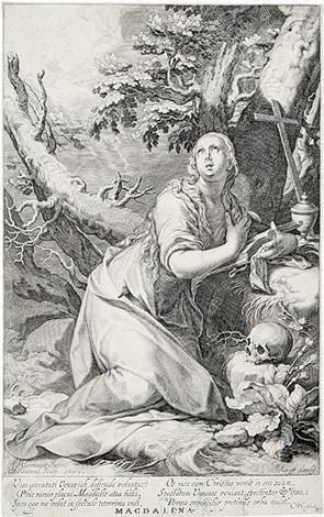 magdalena pl 4 from die sünder des alten und neuen testaments after abraham bloemaert by willem isaaksz swanenburgh the elder