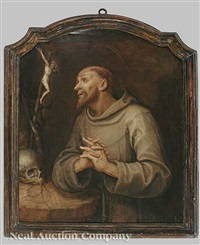 st. anthony of padua by abraham van dyck