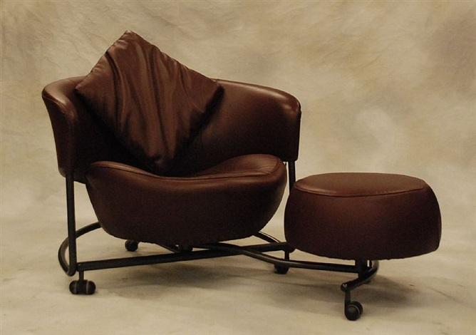 Paire de fauteuils, modèle Girotonda by Francesco Binfarè on artnet