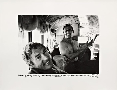 timothy leary visiting neal cassady by allen ginsberg
