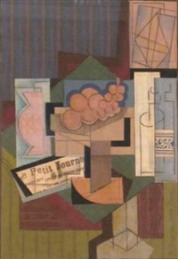 nature morte cubiste by francois dreulle