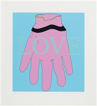 love/glove by michael craig-martin