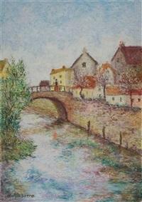 le pont du petit tomek by lélia pissarro