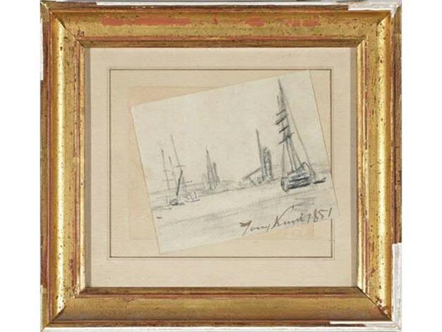 bateaux by johan barthold jongkind