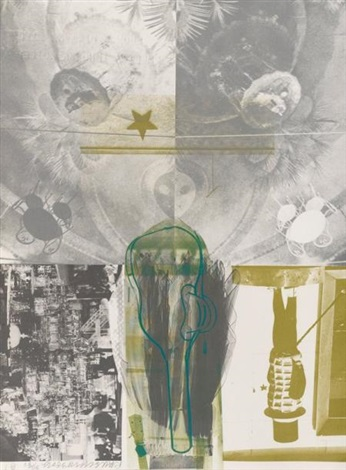 american pewter with burroughs i by robert rauschenberg
