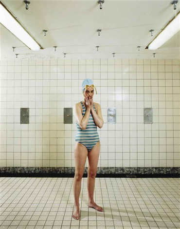 self portrait marnixbad amsterdam by rineke dijkstra