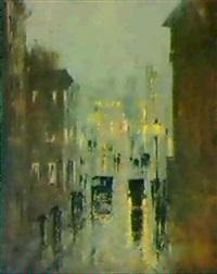 rainy night in washington by philip little
