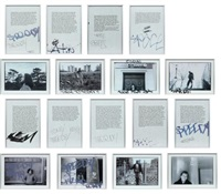 bronx (17 works) by sophie calle