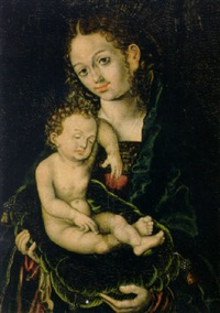 the virgin and child by hans krell