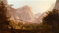 yosemite encampment by edwin deakin