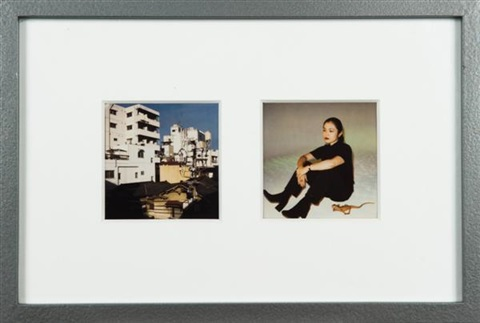 sans titre 2 works in 1 frame by nobuyoshi araki