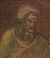 the head of herod antipas by spinello aretino