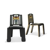 sheraton chairs (pair) by robert venturi