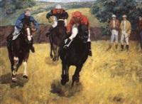 les courses de chevaux by nadejda noukalo