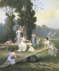 la balance by emile-louis foubert