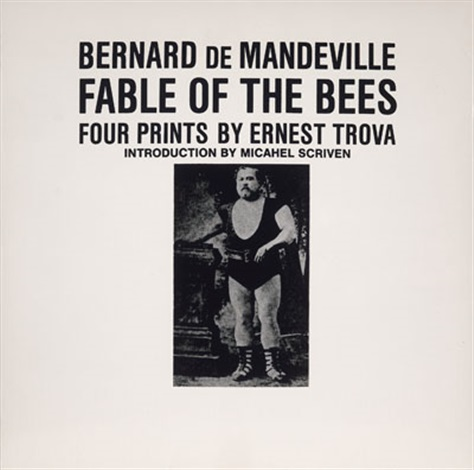 studyfalling man bernard de mandeville fable of the bees portfolio of four by ernest tino trova