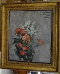 bouquet de fleurs by georges aubry