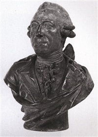 bust of a man (albert, duke of sachsen-teschen?) by franz xaver messerschmidt