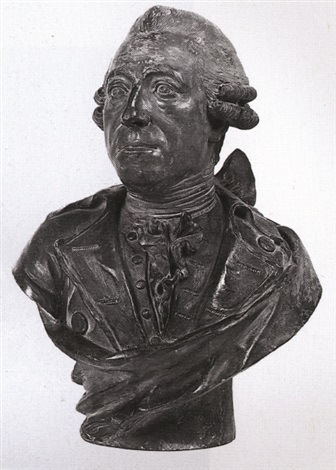 bust of a man albert duke of sachsen teschen by franz xaver messerschmidt