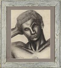 portrait of a man by pavel tchelitchew