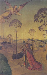 kink david begging the angel of the lord to spare the people of jerusalem by jativa master