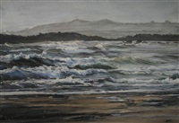 untitled (heavy seas, rhosneigr) by aled prichard-jones