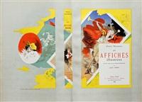 les affiches illustrées (set of 20) by jules chéret