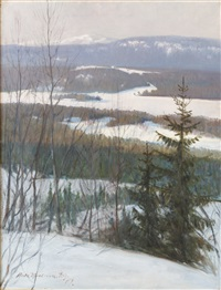 vinter duved by ante karlsson-stig