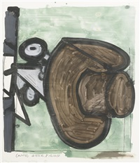untitled (1) by carroll dunham