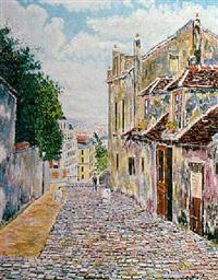 rue de montmartre by andré fontenay de saint-afrique