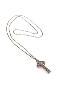 celtic cross pendant and chain by alexander ritchie