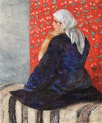 peasant girl from şopârliţa by samuel mützner