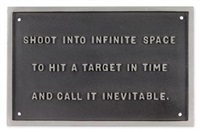 untitled (from the survival series) by jenny holzer