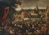 la kermesse de la saint sébastien by pieter balten