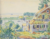 port washington by oscar florianus bluemner