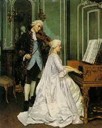 the duet by edmond georges grandjean