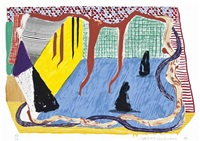 ink in the room, from some new prints by david hockney