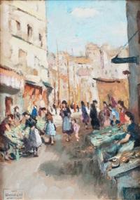 le marché aux poissons à marseille by marcel dyf