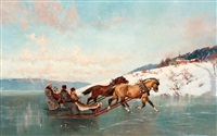 sleigh ride by axel ender