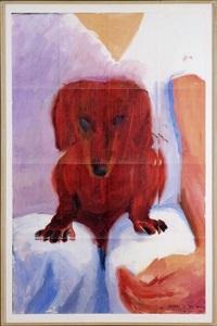 portrait of stanley (16 works) by david hockney