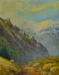 high country mountains by rod goebel