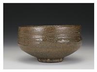 flat teabowl by ishiguro munemaro