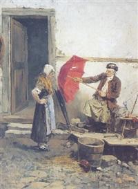 le raccomodeur de parapluies by françois roeder
