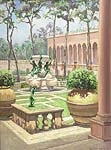 court yard, ringling museum of art, sarasota, florida by aleen aked