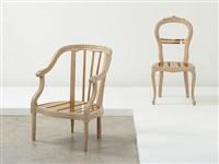 no. 28 armchair by rei kawakubo