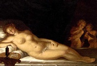 sleeping venus by karl pavlovich bryullov