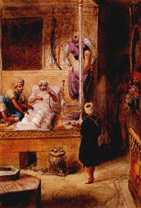 massage au hammam by louis vincent fouquet