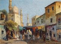 orientalischer markt by rudolf weber