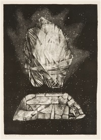 untitled (monument - the first - paris) by june wayne