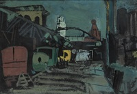 sixth avenue nocturne by joseph solman